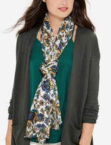 The Limited Textured Floral Scarf
