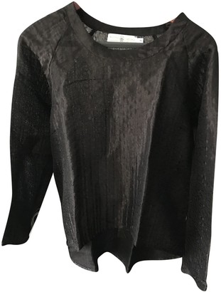 Koshka Mashka Black Silk Top for Women