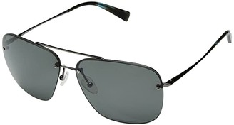 Kaenon Coronado (Gunmetal/Blue Tortoise/Grey 12 Polarized) Sport Sunglasses