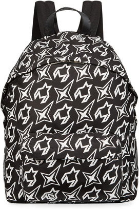 Givenchy Men's Cosmic Printed Nylon Backpack