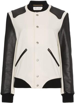 Saint Laurent Heaven varsity jacket