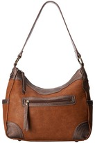 American West Guns and Roses Large Shoulder Bag Shoulder Handbags