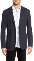 Vince Camuto Men's Delaria Plaid Linen Blend Jacket