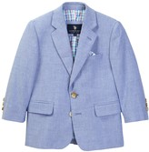 U.S. Polo Assn. Classic Chambray 2-Button Blazer (Little Boys & Big Boys)