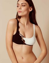 Agent Provocateur Jojo Bikini Top Black And White