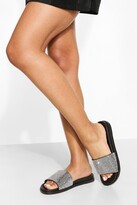 Thumbnail for your product : boohoo Diamante Slider