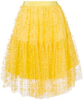 Si Jay Midi Tulle Skirt