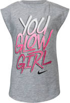Nike Girls' Preschool You Glow Girl T-Shirt