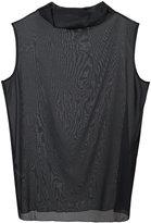 Fabiana Filippi net sleeveless blouse