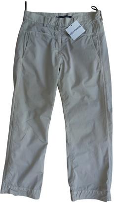 Sofie D'hoore Beige Cotton Trousers for Women