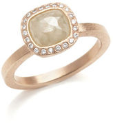 Gump's Todd Reed Pale Yellow & White Diamond Ring