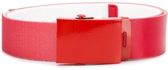 Diesel Red Tag enamelled buckle belt