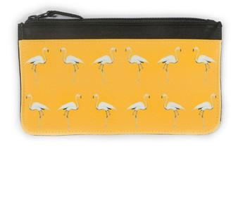 Dwelling Bird Flamingo Accessory Case Mustard Sun