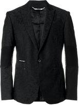 Philipp Plein buttoned blazer - men - Polyamide/Polyester/Spandex/Elastane/Viscose - S