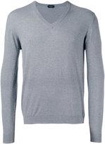 Zanone V-neck jumper - men - Cotton - L