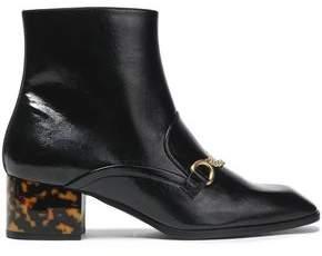366c5b7ee29 Stella McCartney Black Leather Boots For Women - ShopStyle UK