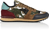 Valentino Men's Camustars Canvas Sneakers-DARK GREEN