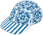 Dolce & Gabbana printed cap - kids - Cotton - 50 cm