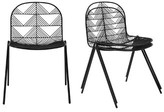 Bend Goods Betty Metal Windsor Back Stacking Side Chair Color: Black