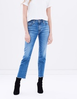AG Adriano Goldschmied Isabelle Straight Crop Jeans