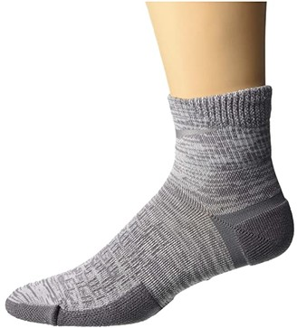 Nike Spark Cushion Ankle Socks (Black/Reflective) Quarter Length Socks Shoes