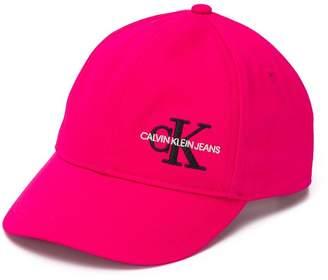 Calvin Klein Kids embroidered logo baseball cap