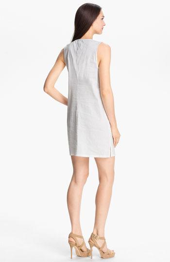 Theory 'Wandu' Linen Blend Shift Dress