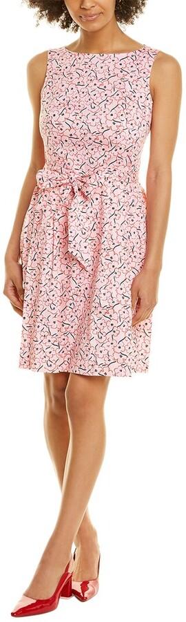 Anne Klein Floral A-Line Dress