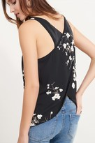 Dynamite V-Neck Tank with Crossed Back