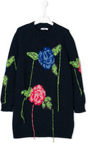 MSGM floral pattern jumper