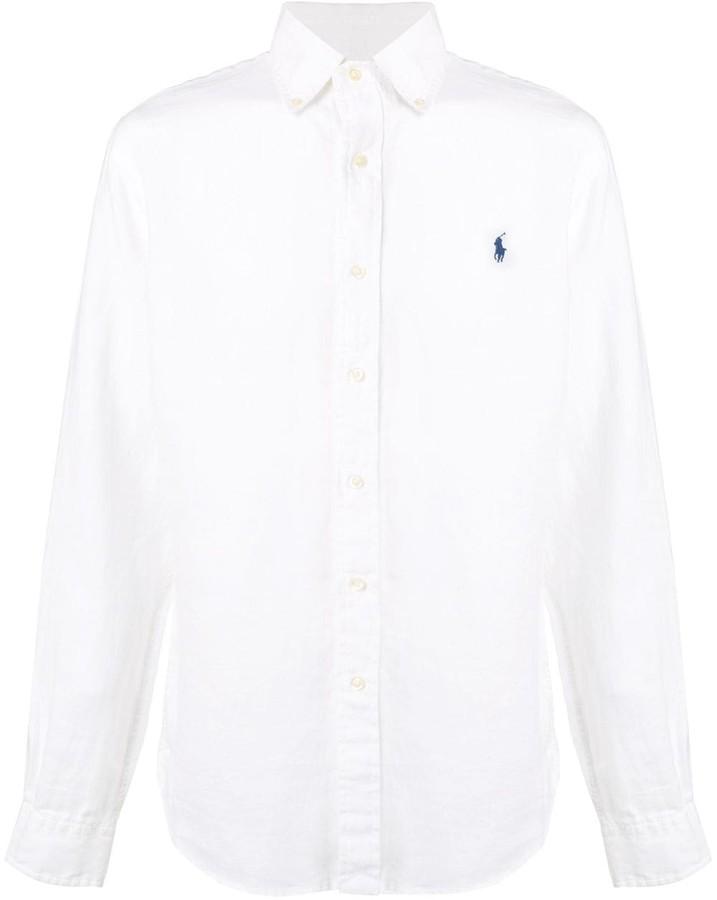 Ralph Lauren logo long-sleeve shirt