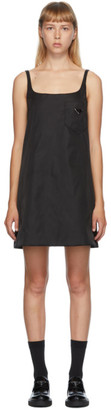 Prada Black Nylon Pocket Dress