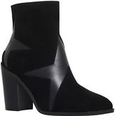 KG by Kurt Geiger Skywalk Block Heeled Ankle Boots, Black