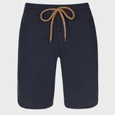 Paul Smith Men's Navy Jersey Shorts