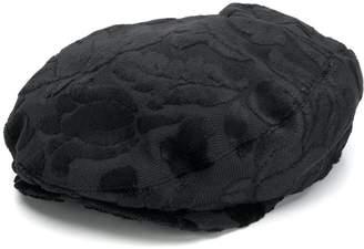 Dolce & Gabbana floral textured beret