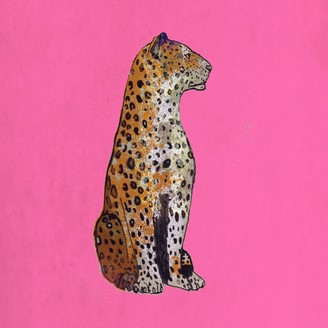 Jessica Russell Flint The Leopard Statue Signed Print
