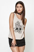 MinkPink Take Me To Paradise Muscle Tank Top