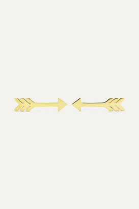 Jennifer Meyer Extra Small Arrow 18-karat Gold Earrings