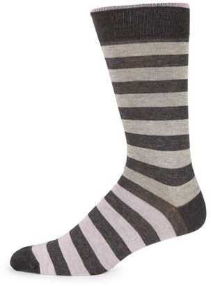 Saks Fifth Avenue COLLECTION Multicolor Rugby Stripe Socks