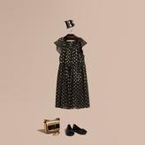 Burberry Fil Coupé Dress