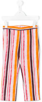 Il Gufo striped trousers - kids - Cotton/Spandex/Elastane - 8 yrs