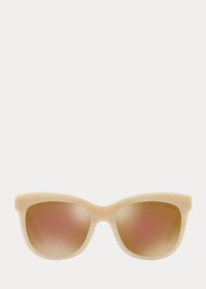 Ralph Lauren Square Cat-Eye Sunglasses