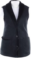 Marc Cain Black Leather Top for Women