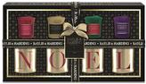 Baylis & Harding 4 Votive Candles & Noel Holders - Black/Gold