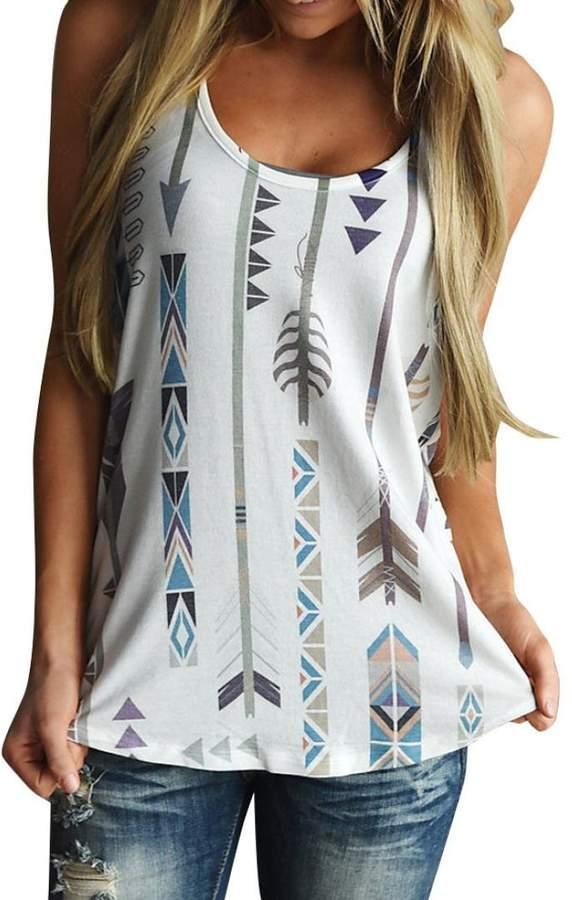 cdf2f49d6 Printed Vest T Shirt Women - ShopStyle Canada