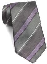 John Varvatos Men's Stripe Silk Tie
