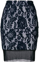 Just Cavalli lace pencil skirt