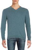 Strellson Cotton-Blend V-Neck Sweater