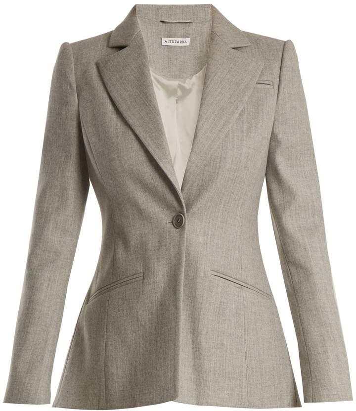 Altuzarra Acacia single-breasted wool-blend jacket