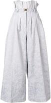 Couture Atu Body cropped wide-leg trousers